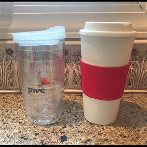 tervis Dining - Insulated Tumbler Travel Cups Hot/Cold (2)